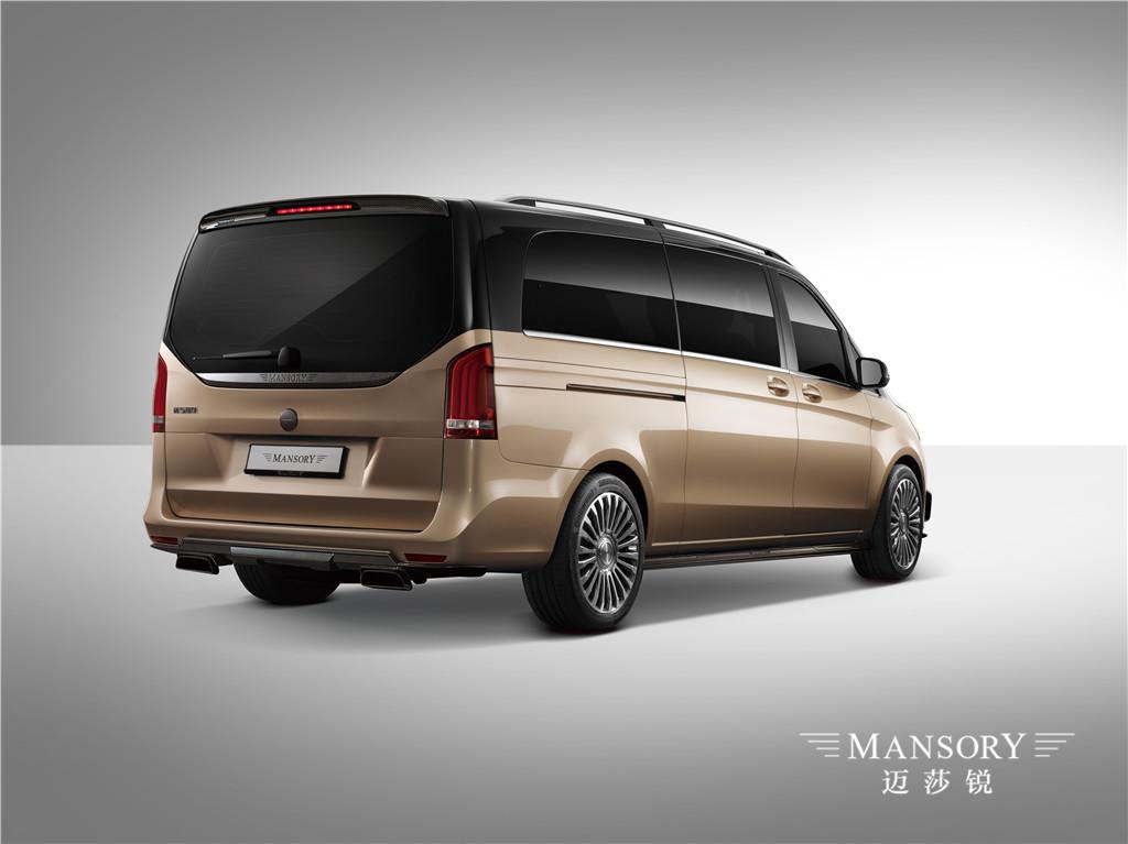 Mansory迈莎锐M580誉金版,豪华不输于任何一辆商务车  详细咨询:400 168 8588